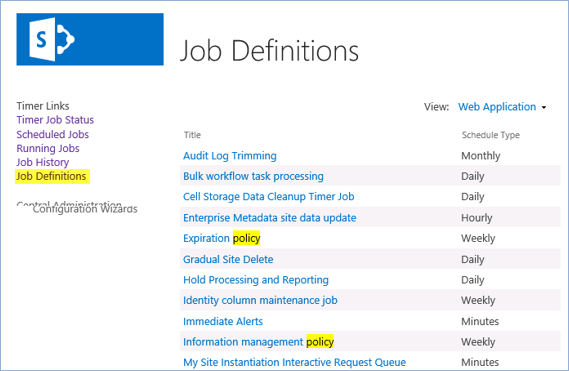 blog ai3 ShpCleanPolicy05 RGPD : SharePoint clean policy